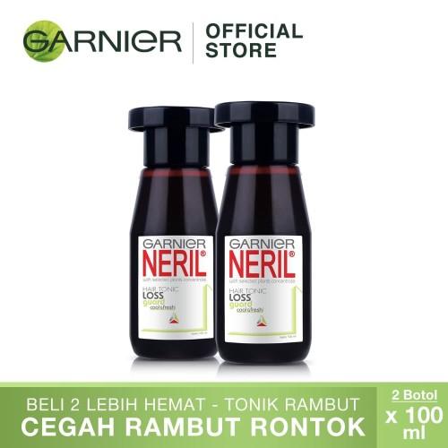 Foto Produk Garnier Neril Hair Care Hair Tonic Cool & Fresh Guard-100ml Twin Pack dari Garnier Official