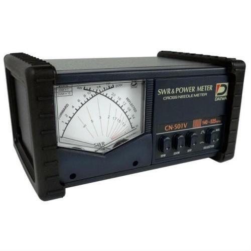 Foto Produk Daiwa CN-501V SWR Power Meter 140-525MHz 200W Ori Baru CN501V CN501 dari Hanika Radio