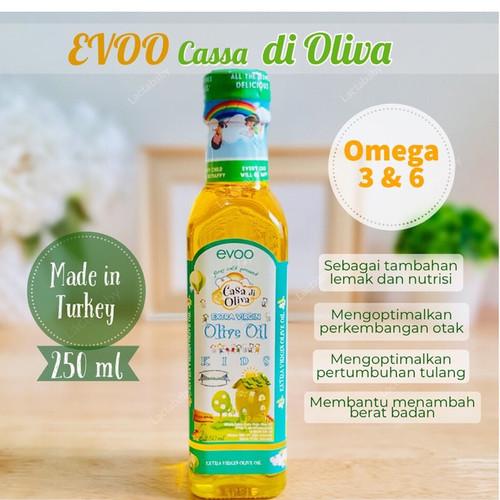 Foto Produk EVOO (extra virgin olive oil) CASA DI OLIVA for kids minyak zaitun dari rabbitbaby