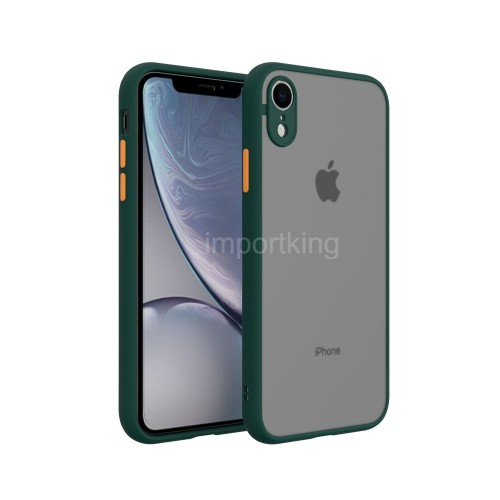 Foto Produk Iphone XR Frosted camera protection - Hitam dari importking