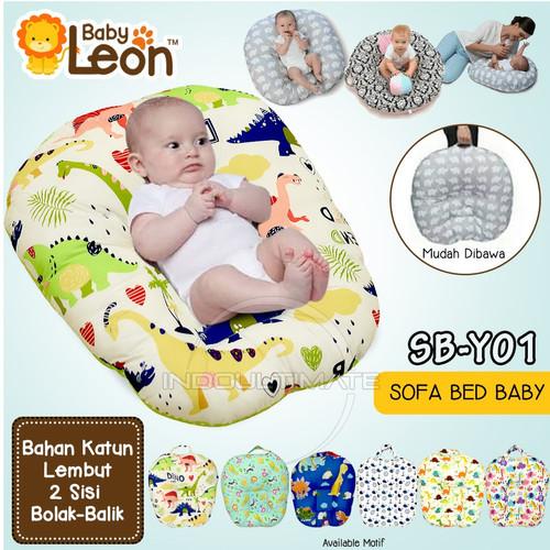 Foto Produk Bantal Sofa Bayi Newborn SB-Y01 Bantal Sofa Duduk Tempat Tidur Bayi - Dino dari indo ultimate