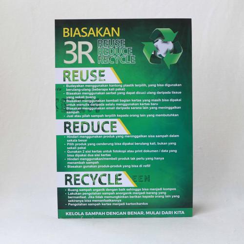 Foto Produk Poster Pengolahan Sampah 3R dari Syafana
