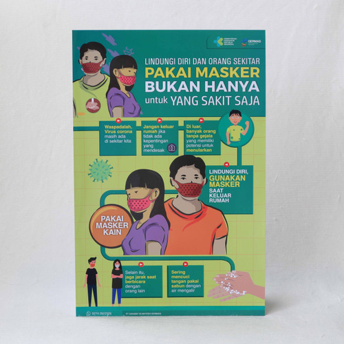 Foto Produk Poster Pakai Masker bukan Hanya yang Sakit dari Syafana