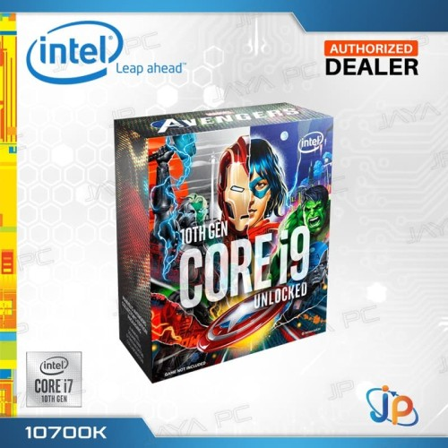 Foto Produk Processor Intel Core I7 10700K Avengers Box Comet Lake Socket LGA 1200 dari Jaya PC