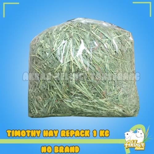 Foto Produk [PROMO] Timothy Hay 1kg Rumput Hay Timothy no Alfalfa King Oxbow dari Akbar Kelinci Tangerang