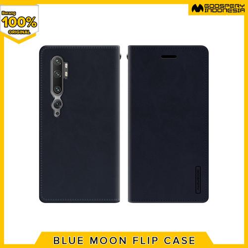 Foto Produk Goospery Xiaomi Note 10 Xiaomi Note 10 Pro Blue Moon Flip Case - Navy dari Goospery Indonesia