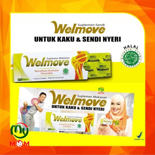 Foto Produk [BPOM] Welmove Suplemen Makanan Isi 5 Kaplet / Vitamin Kesehatan Sendi dari mymom