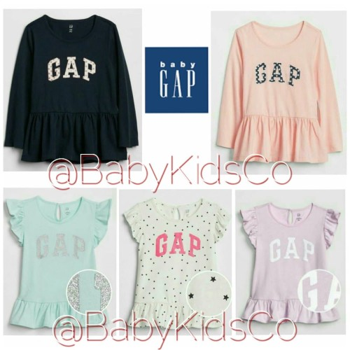 Foto Produk Kaos Baby Gap BabyGap Peplum Top tee baju bayi anak perempuan branded dari BabyKidsCo