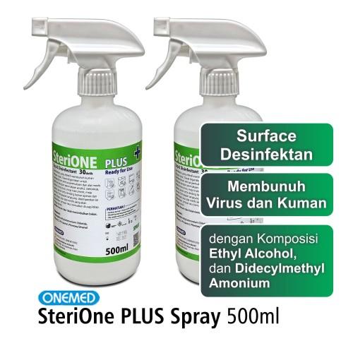 Foto Produk SteriOne Plus Desinfektan 500ml Spray dari OneMed-Medicom