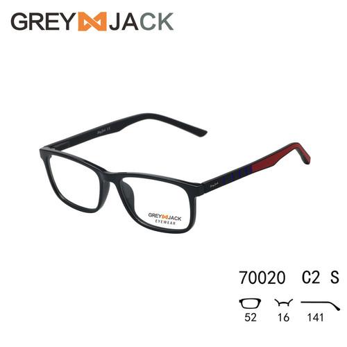 Foto Produk Grey Jack/Frame Kacamata game olahraga /TR90 Gel silika/pria 70020 - Merah dari Grey Jack