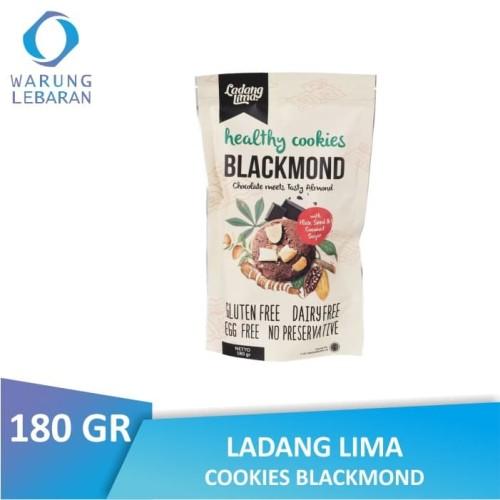 Foto Produk Ladang Lima Blackmond Cookies 180 GR   Gluten Free dari Warung Lebaran