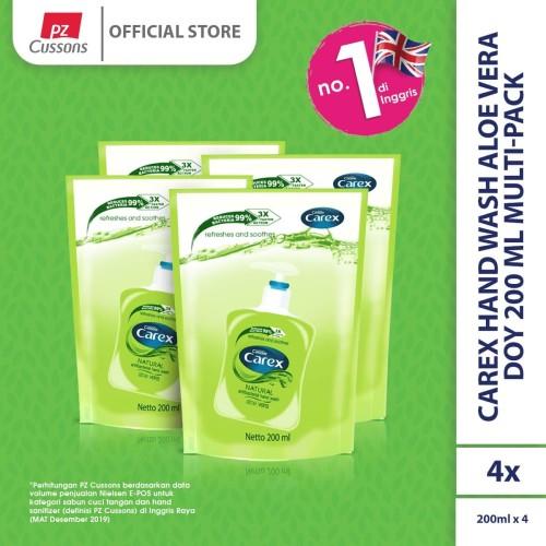 Foto Produk Carex Hand Wash Aloe Vera Multi-Pack dari Cussons Official Store