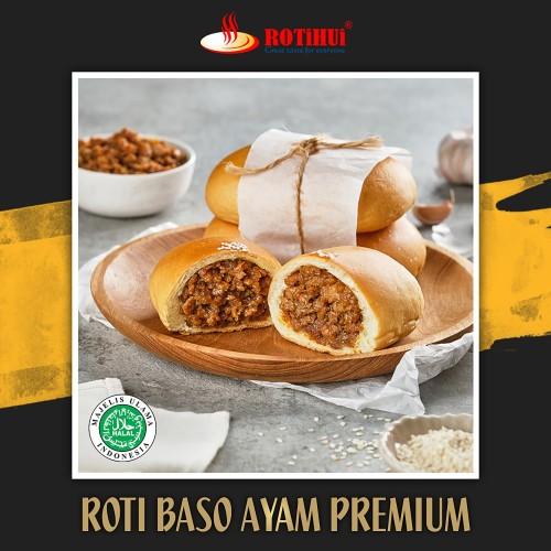 Foto Produk rotihui roti baso ayam premium meat lovers 1 pcs dari Rotihui home bakery