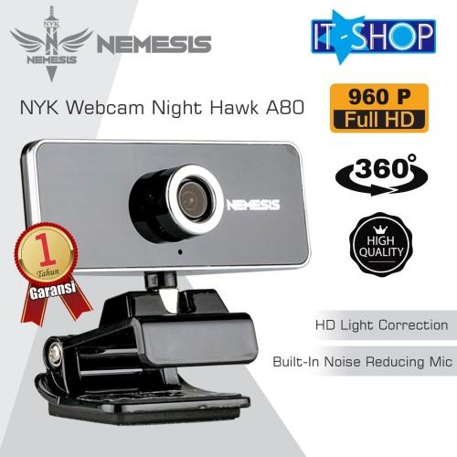Foto Produk NYK Webcam Night Hawk A80 HD 960P dari IT-SHOP-ONLINE