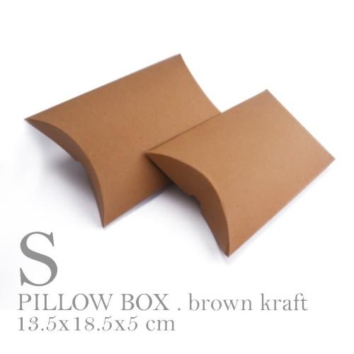 Foto Produk BOX / PACKAGING / PAPER BAG / PILLOW BOX SMALL SIZE (11x18x4 cm) dari ashadewi gayatri
