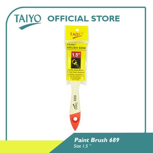 Foto Produk Taiyo 689 Paint Brush / Kuas Cat 1-5 inch - 1.5 Inch dari Taiyo Perkakas Official