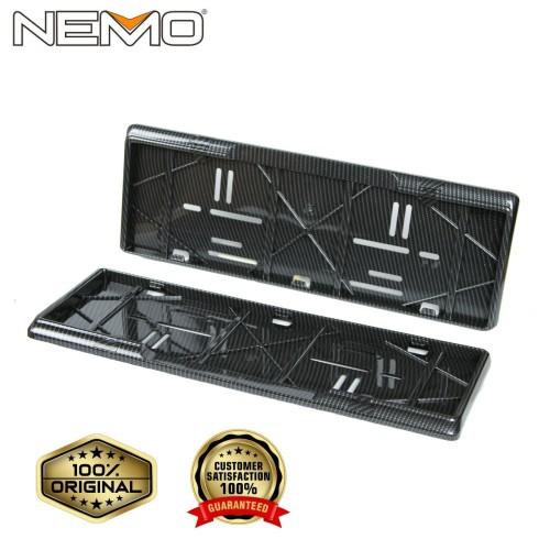 Foto Produk Tempat / Dudukan Plat Nomor Mobil Carbon NEMO dari GMA Product Series