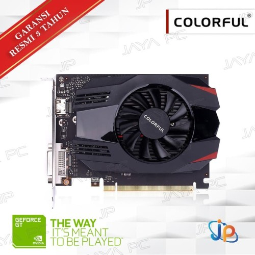 Foto Produk VGA Colorful Geforce GT 1030 NB 2GB V3 - 2 GB GDDR5 dari Jaya PC