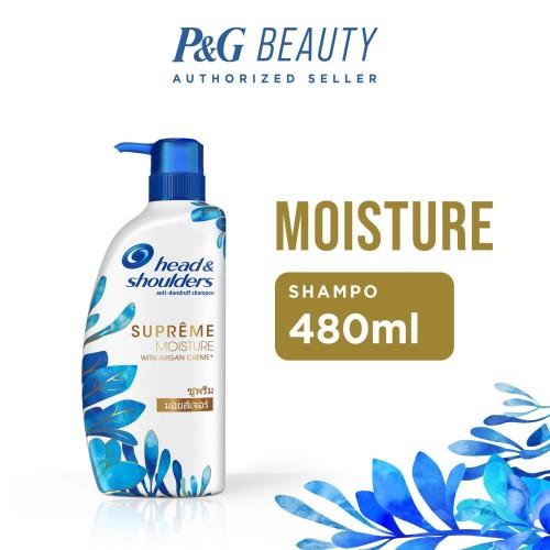 Foto Produk Head & Shoulders Shampoo Supreme Moisture 480 ml dari farmaku
