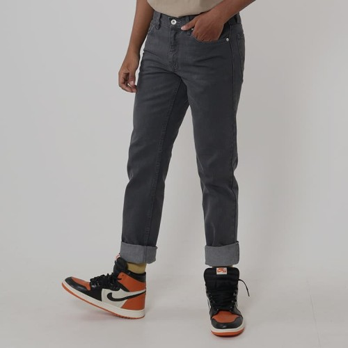 Foto Produk Edwin Celana Jeans N.London Dark Grey Reguler Fit Pria Panjang Dark Gr - Abu-abu, 28 dari Edwin Jeans