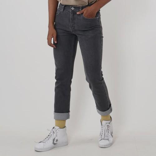 Foto Produk Edwin Celana Jeans Barca Dark Grey Slim Fit Stretch - Abu-abu, 31 dari Edwin Jeans