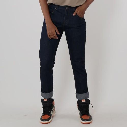 Foto Produk Edwin Celana Jeans Vegas 06 Reguler Fit Pria Panjang Blue Garment - Navy, 28 dari Edwin Jeans