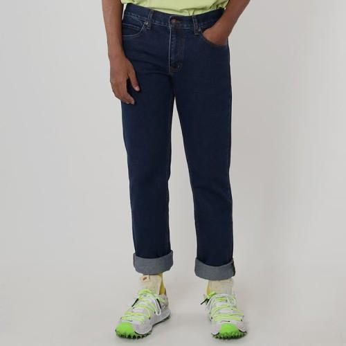Foto Produk Edwin Celana Jeans Vegas 04 Reguler Fit Pria Panjang warna Dark Blue - Biru, 28 dari Edwin Jeans