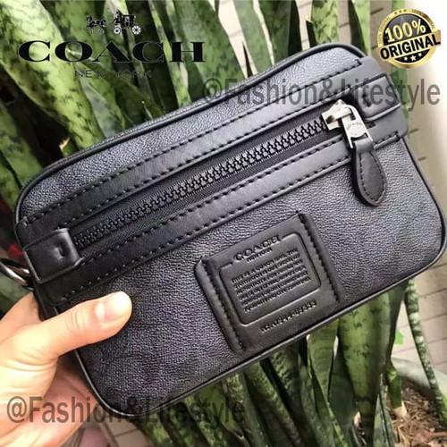 Foto Produk Coach Bag Academy Crossbody Signature Canvas Travel Bag 100% Original - Hitam dari Fashion&LifeStyle