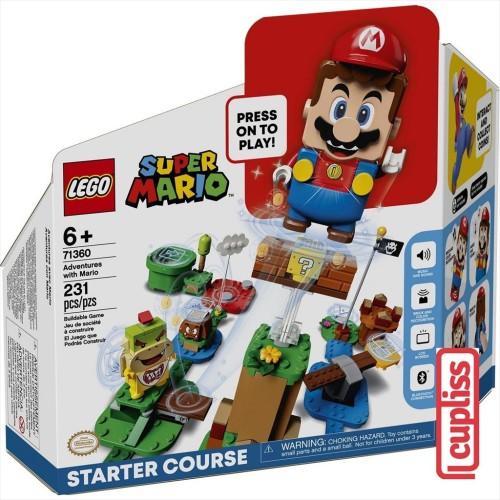 Foto Produk LEGO Super Mario 71360 Adventures with Mario dari Cupliss