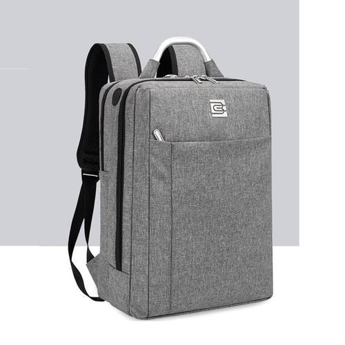 Foto Produk Bruno Cavalli Mii4 18L USB Backpack - Tas Ransel Bruno Cavalli 8400 - Abu-abu Muda dari Bruno Cavalli Official