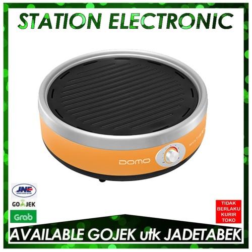 Foto Produk DOMO DQ 1410 O/DQ-1410-O Portable Multi Grill Pemanggang listrik dari station electronic