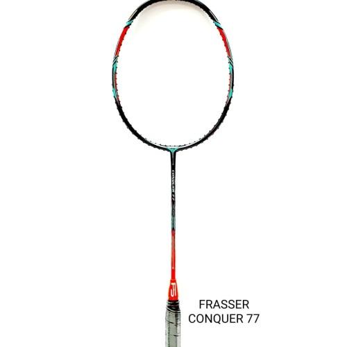 Foto Produk raket badminton bulutangkis frasser conquer 77 dari Pusat Grosir OLAHRAGA