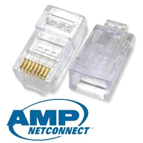 Foto Produk AMP Konektor RJ-45 Original per 50 pcs dari Master Networks