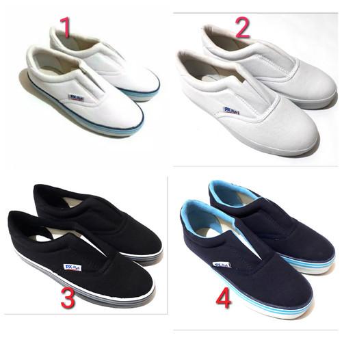 Foto Produk Sepatu Kanvas PX style (128-Navy) - White Blue, 41 dari One Shopers
