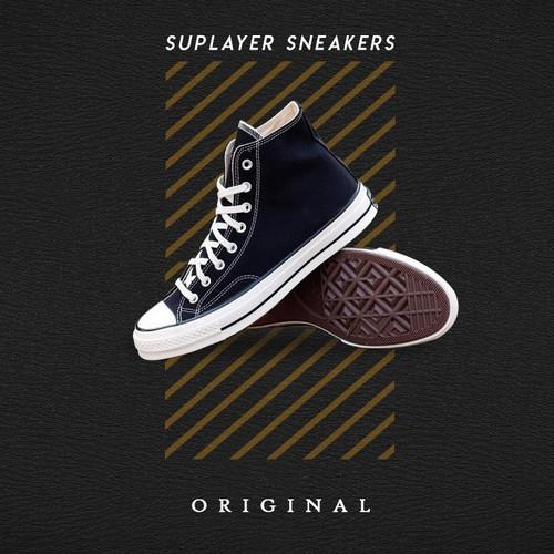 Foto Produk Converse 70s Black Egret High Chuck 70 Converse 1970 - 43 dari Suplayer Sneakers