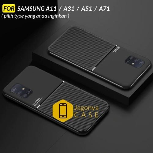 Foto Produk Case Samsung A11 A31 A51 A71 Case Magnetic IQS Design - SAMSUNG A11, Hitam dari Jagonya Case