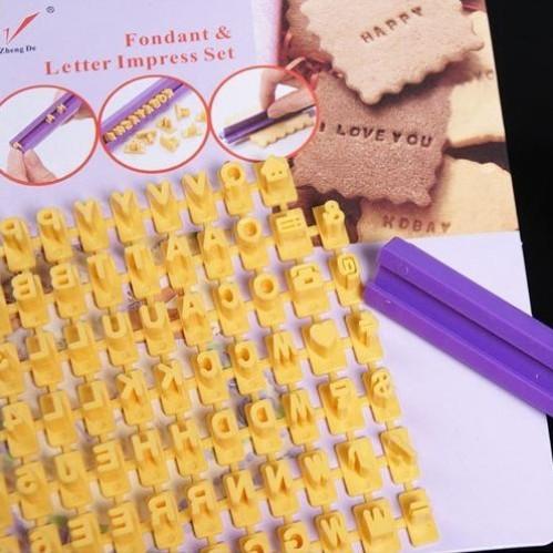 Foto Produk Set Cetakan Alfabet dan Angka untuk Biskuit / Cookies / Kue dari Dunia Jasmine