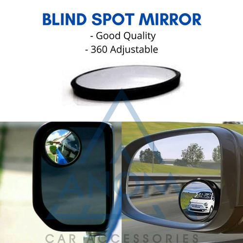 Foto Produk Blind spot mirror / Kaca spion bulat cembung tambahan mobil wide angle dari ANOM Otomotif