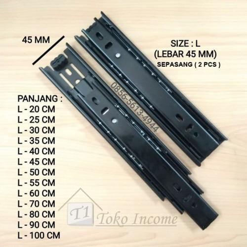 Foto Produk Rel Laci 20 cm Double Track dari Toko Income