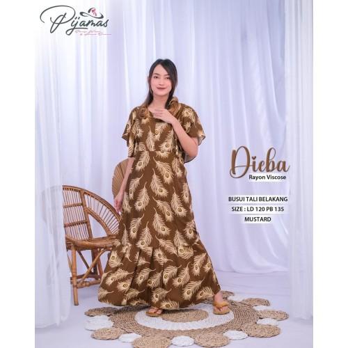 Foto Produk daster dubai daster arab daster batik daster turkey busui jumbo dingin dari Dress FnS