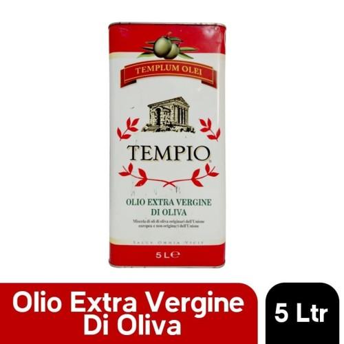 Foto Produk Minyak Zaitun Extra Virgin Olive Oil Italy IL TEMPIO 5 Liter dari Premium Food Importer