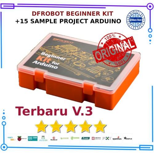 Foto Produk DFROBOT Beginners Kit For Arduino V3 - Original dari Khurs IOT