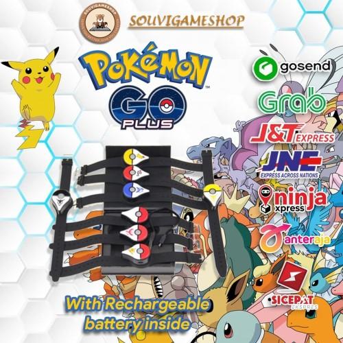 Foto Produk Pokemon GO Plus PoGO+ DUAL VERSION AUTO - MANUAL RECHARGEABLE BATTERY - BASIC COLOR dari souvigameshop