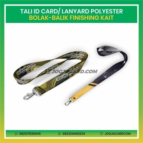 Foto Produk Tali Id Card Polyester Dua Muka + Kait | Tali Id Card | Lanyard IdCard dari jogjacardcom