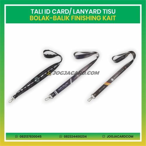Foto Produk Tali Id Card Tisu Dua Muka + Kait | Tali Id Card | Lanyard Id Card dari jogjacardcom