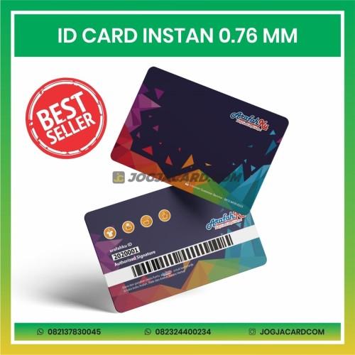Foto Produk CETAK ID CARD INSTAN STANDAR (0,76 MM) MURAH dari jogjacardcom
