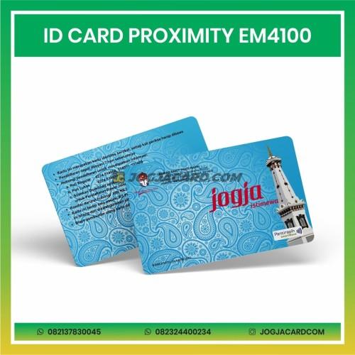 Foto Produk CETAK ID CARD PROXIMITY EM4100 MURAH dari jogjacardcom