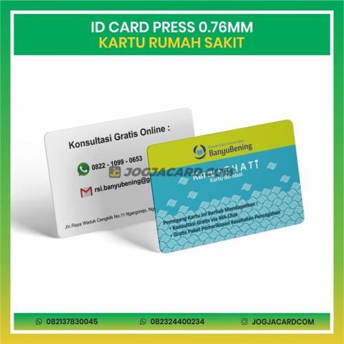 Foto Produk Cetak Id Card Press Standar | Cetak Id Card | Cetak Kartu Member dari jogjacardcom