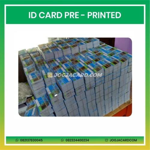 Foto Produk Cetak Id Card Pre Printed   Cetak Id Card   Cetak Kartu   Cetak Kartu dari jogjacardcom