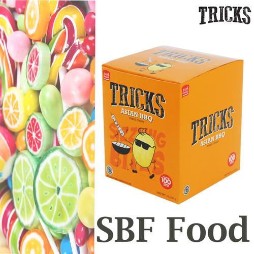 Foto Produk Snack Tricks Rasa Original - 1 Box isi 10 Kantong kecil - Lezat Bgt-- - BBQ dari ShineBestFood
